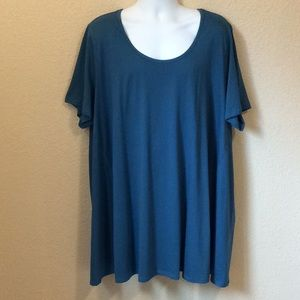 Roaman's 3X 100% combed cotton tunic, NWOT